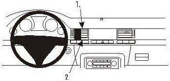 Brodit AB dla Clip do Audi A8 03-10 853196
