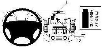 Brodit AB dla Clip do Mitsubishi Pajero 07-15 853981