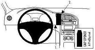 Brodit AB dla Clip do Peugeot 3008 09-13 854344