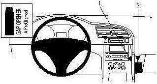 Brodit AB dla Clip do Peugeot 3008 09-15 854345