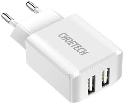 CHOETECH Ładowarka sieciowa CHOETECH C0030 Biały