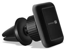 Connect IT Uchwyt telefonu InCarz 4Strong360 magnetický do mřížky CMC-4044-BK) Czarny