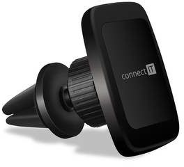 Connect IT Uchwyt telefonu InCarz 6Strong360 magnetický do mřížky CMC-4046-BK) Czarny