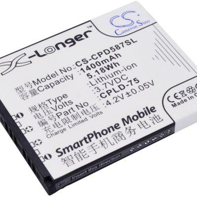 Coolpad 5870 CPLD-75 1400mAh 5.18Wh Li-Ion 3.7V Cameron Sino) CS-CPD587SL