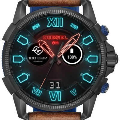 Diesel SmartWatch Full Guard 2.5 Brown Leather DZT2009