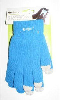 DPM Rękawiczki do ekranów dotykowych Niebieski