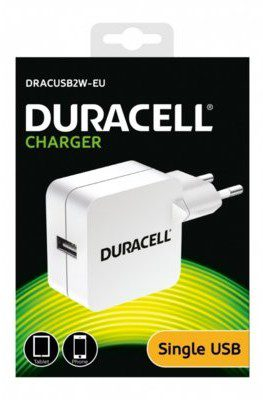 Duracell Ładowarka 2.4A do smartfonów i tabletów (DRACUSB2W-EU)