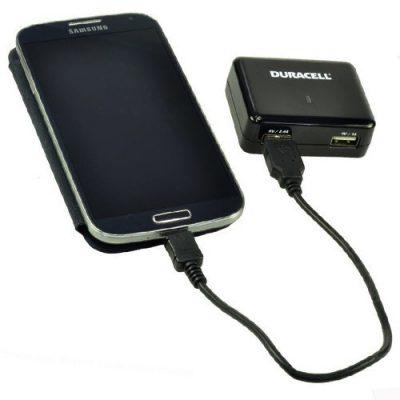 Duracell Podwójna USB Ładowarka 2.4A i 1A DR6001A