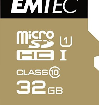 Emtec microSD Class10 Gold+ 32GB pami?? flash ECMSDM32GHC10GP