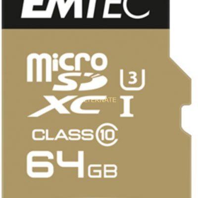 Emtec microSDXC SpeedIn Class 10 64GB + adapter (ECMSDM64GXC10SP)
