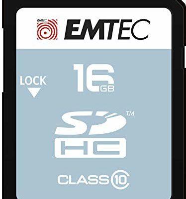 Emtec SDHC 16GB Classic Class 10BlisterHigh Capacity SD (SDHC), ecmsd16ghc10cg