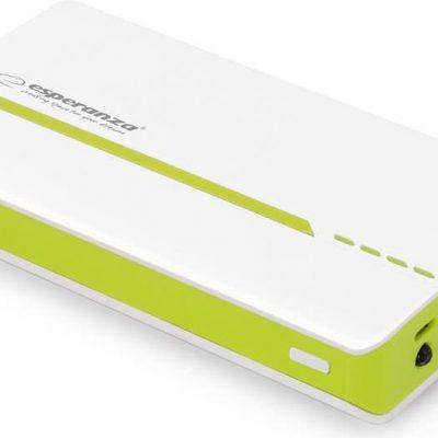Esperanza Atom 11000 mAh Biało-zielony (EMP107WG)