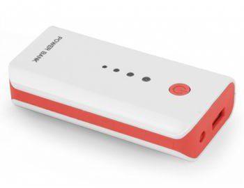 Esperanza Electron 5200mAh Biało-czerwony (EMP104R)
