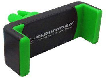 Esperanza Uchwyt samochodowy do telefonów Vamp czarno-zielony (EMH117KG)