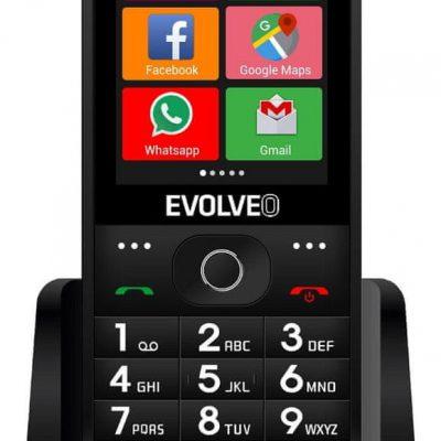 Evolveo EasyPhone AD Czarny