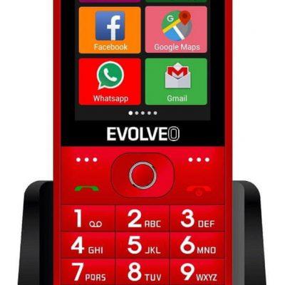 Evolveo EasyPhone AD Czerwony