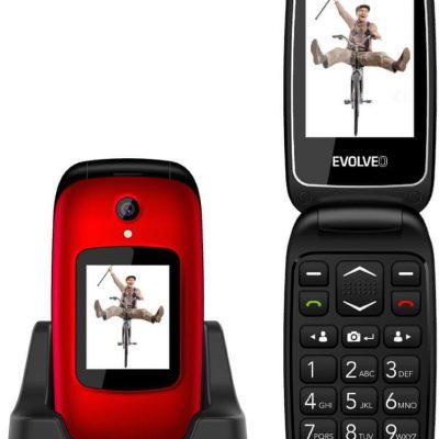 Evolveo EasyPhone FD Czerwony