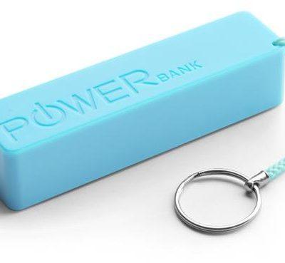 "eXtreme Power bank 2000mAh ""Quark"" niebieski XMP101B"