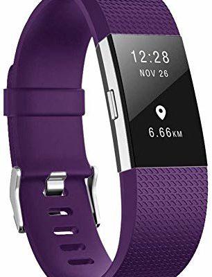 fitbit AOCGO Zapasowy pasek do zegarka na rękę Charge 2, zamienny pasek do miękkich akcesoriów, Charge 2 (6,7