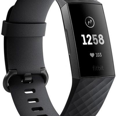 Fitbit Charge 3 Czarno Grafitowy