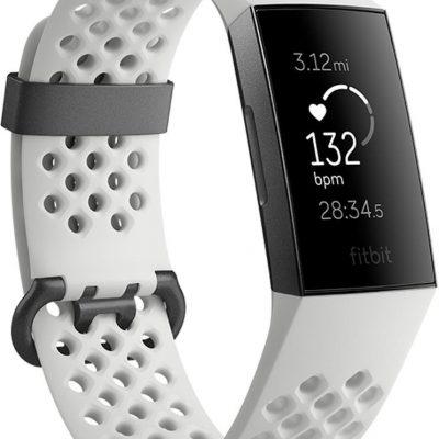 Fitbit Charge 3 Grafitowo Biały