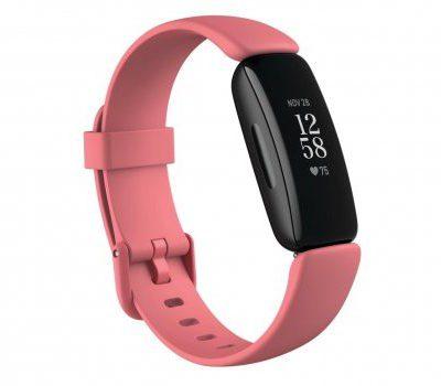 Fitbit Inspire 2 Czarno-różowy