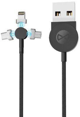 Forever Kabel USB Lightning/Micro USB/USB Typ-C Core 3MDC251B 1 m GSM045674
