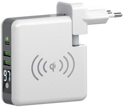 Forever Ładowarka sieciowa Core z powerbankiem 6700 mAh Biały Bezpłatny transport |