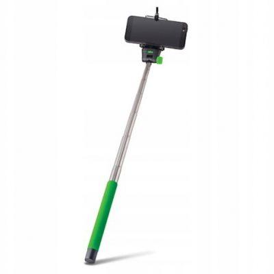 Forever Monopod MP-300 zielony - uchwyt do selfie