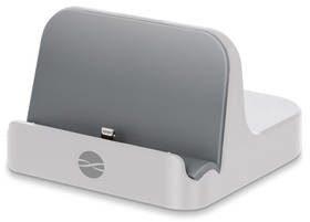 Forever Podstawka ładująca PDS-02 MFI pro Apple iPhone 5/6 ATCAPIP5DSMFITFWH) Biały