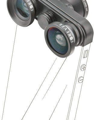 Forever Zestaw obiektywów do iPhone 5 4w1 SL-210
