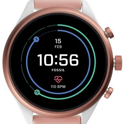 FOSSIL FTW6022 Sport Lady HR GPS Digital Smartwatch