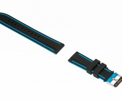 Garett Electronics Garett Electronics Pasek gumowy GT13 czarno-niebieski