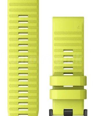 GARMIN Pasek silikonowy na nadgarstek QuickFit 26 żółty 010-12864-04