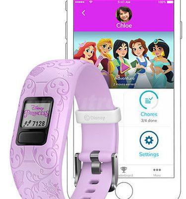 Garmin Vivofit Junior 2 Disney Princess Icons