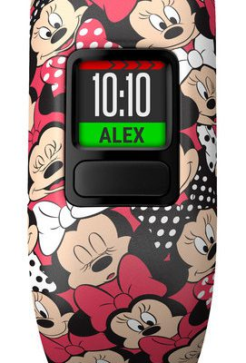Garmin Vivofit Junior 2 Minnie Mouse Czerwony