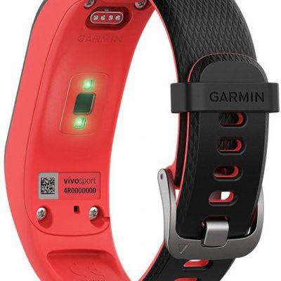 Garmin Vivosport S/M Czarno-czerwony