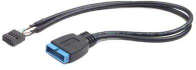 Gembird Kabel USB PIN HEADER USB 3.0 19pin - USB 2.0 9pin, 30cm CC-U3U2-01