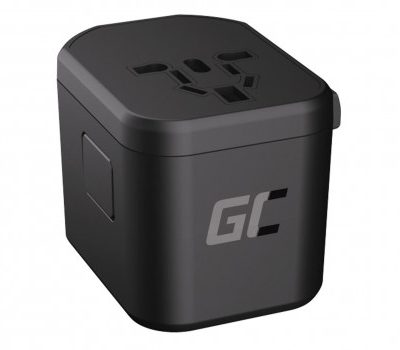 Green Cell Adapter podróżny TripCharge Pro USB USB-C 18W