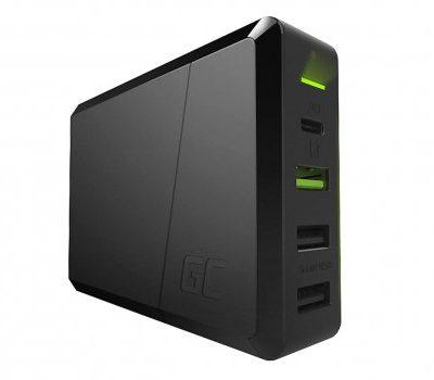 Green Cell Ładowarka sieciowa USB-C PD 75W 3x USB