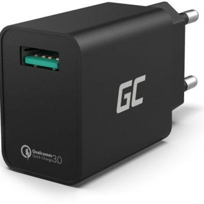 Green Cell Ładowarka sieciowa USB z funkcją QC 3.0 CHAR06