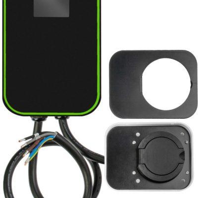 Green Cell Ładowarka Wallbox GC EV PowerBox 22kW z gniazdem Type 2 do ładowania samochodów elektrycznych i hybryd Plug-In