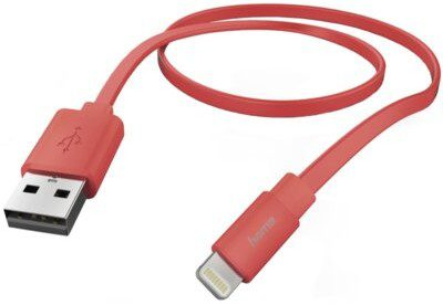 Hama Kabel USB Lightning 1.2m Różowy 001736450000