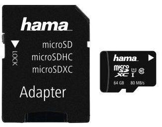 Hama MicroSD 64GB (124140)
