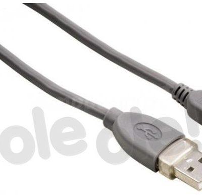 Hama mini USB 1,8m szary