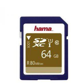 Hama SDXC Class 10 64GB (124136)
