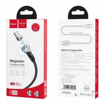 Hoco Kabel Magnetyczny Do Ładowania Telefonu Typ-c 3A