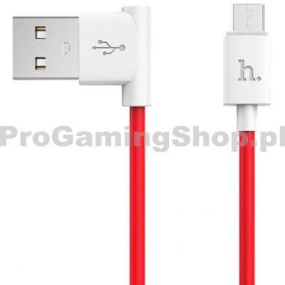 Hoco USAMS Kabel składka na telefonie lub tablecie z wtyczką micro USB 1,2 metra czerwony