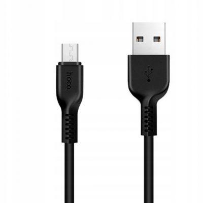 Hoco X20 Kabel Z Usb Na Micro Usb Usb-b 1M Czarny