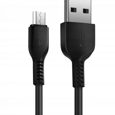 Hoco X20 mocny silikonowy kabel micro Usb 3m 2A